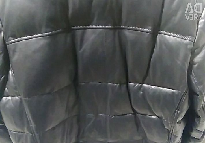 Leather jacket male (WINTER)