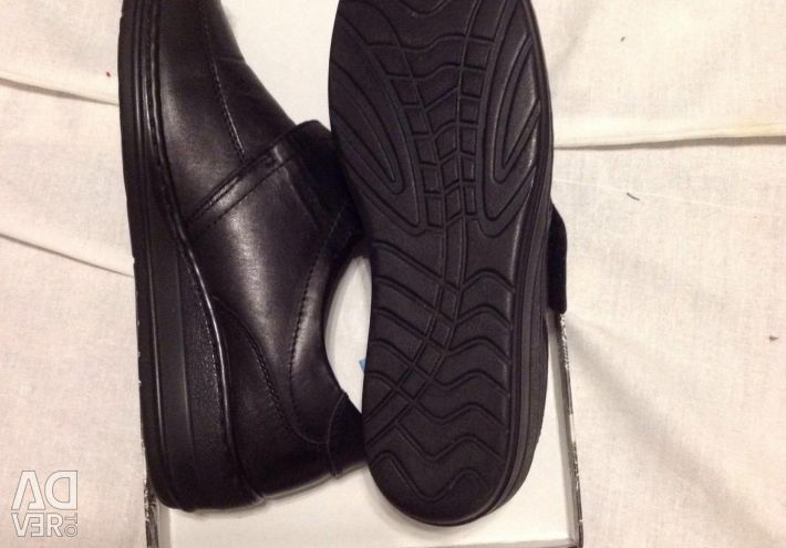 New nat leather shoes 37 to 36