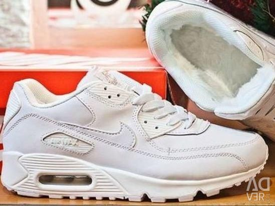 Nike Air Max 90 sneakers (low with fur)