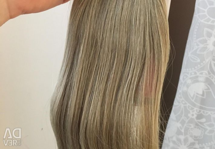 Hair on the ribbons, new, 55 cm, 20 ribbons