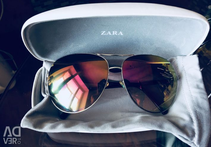 Mirror sunglasses aviators ZARA 🙌🏻