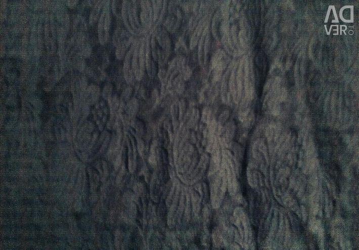 Блузка, гепюр-стрейч, чорна, красива, стильна.