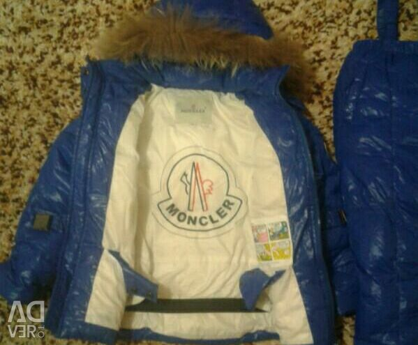 Overalls for winter Moncler