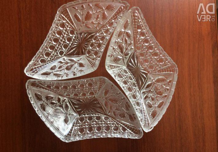 Vase de salată Bowl Crystal