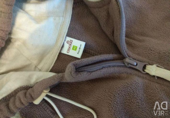 Crockid fleece coverall and fleece