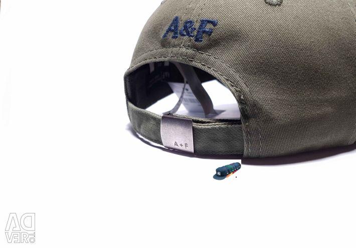 Șapcă de baseball Abercrombie & Fitch (Kaki)