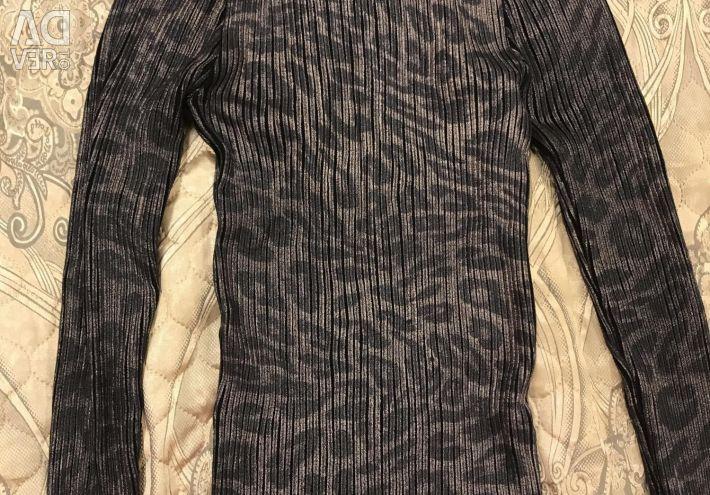 Topshop ribbed sweatshirt