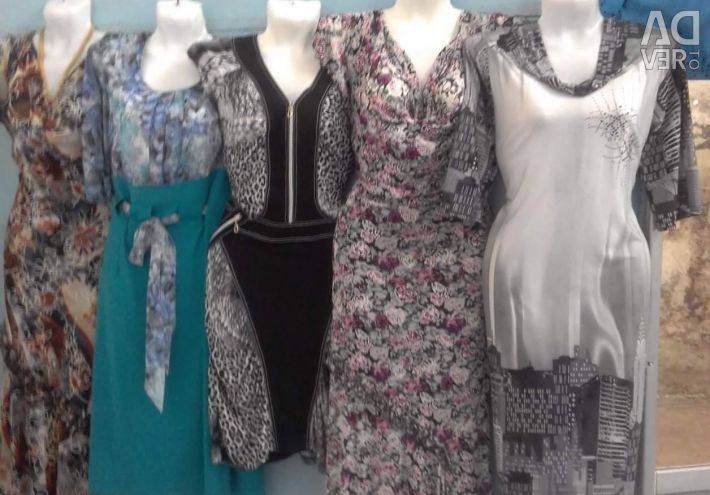 New dresses at an attractive price.