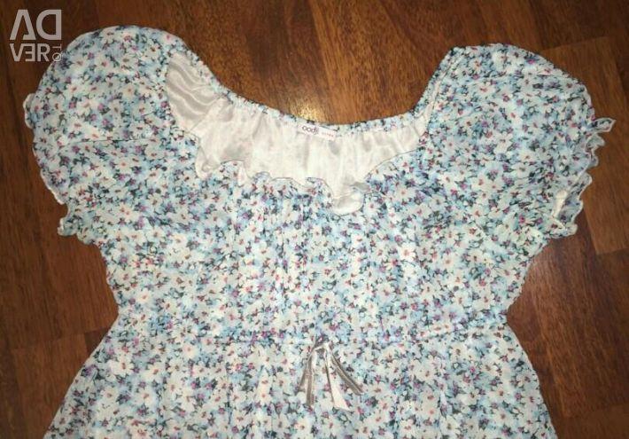 The dress is light summer