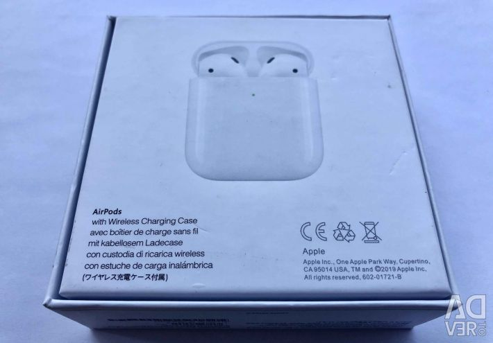 Airpods2 Lux Copy 1: 1 Wireless Headphones