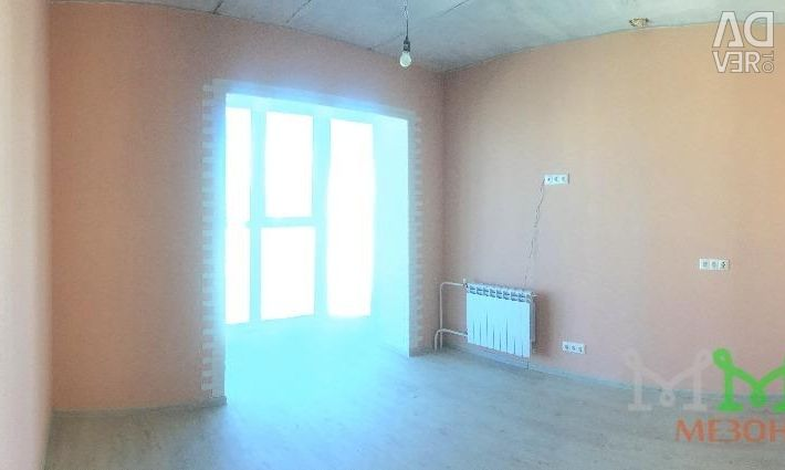 Apartment, open plan, 21.6 m²