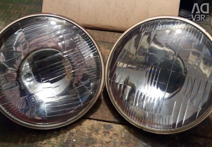Headlamp optics