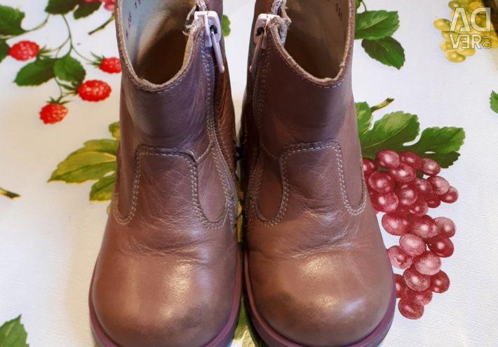Οι μπότες του Totott flex, nat. Δερμάτινο (15,5 cm dimesis)