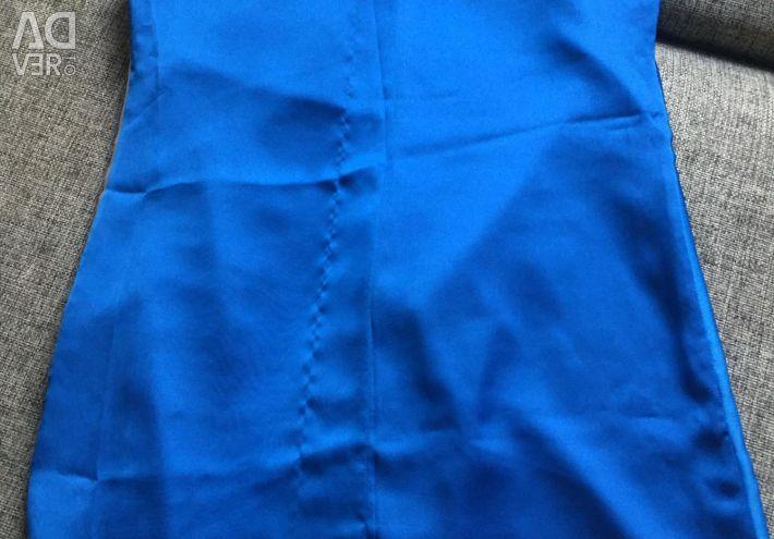Эффектное шeлковое платье 46-48