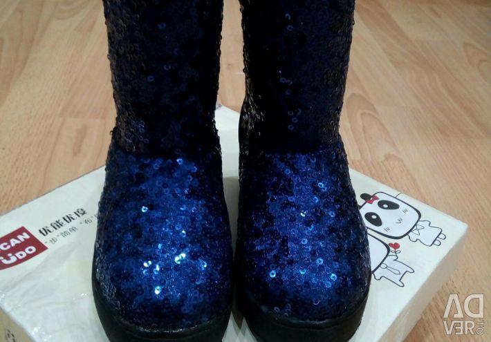 Χειμερινές μπότες νέων παιδιών