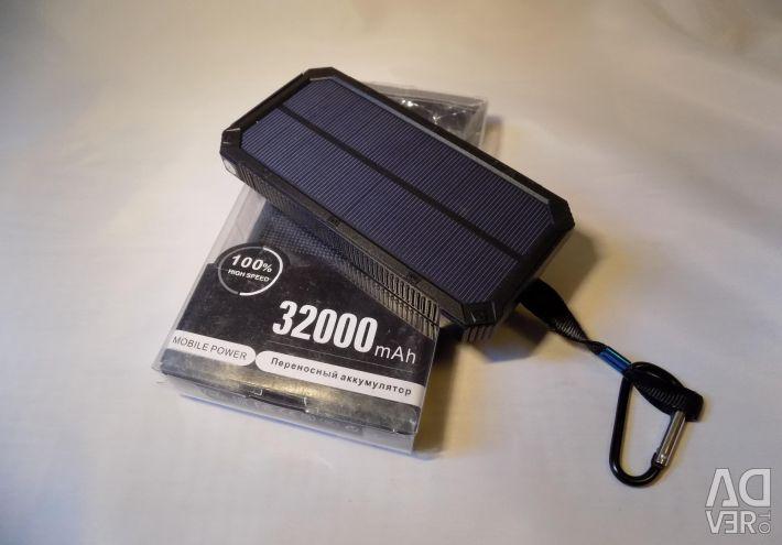 Εξωτερική φορητή μπαταρία 32000 mAh