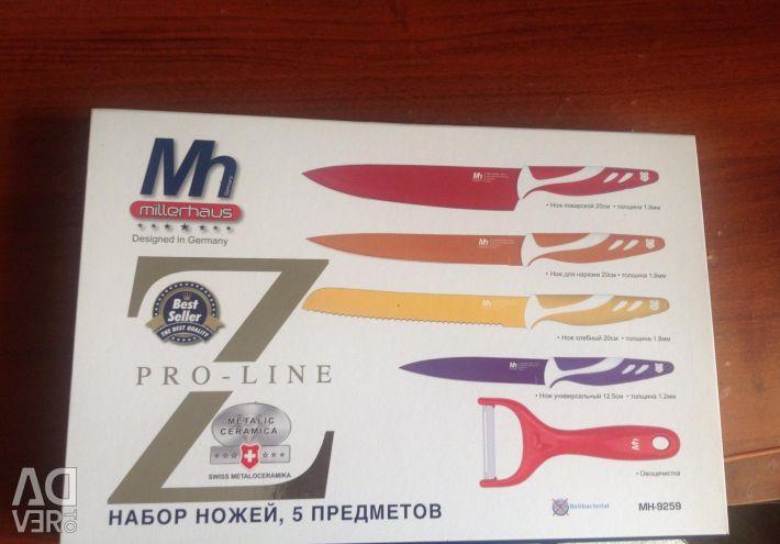 Set of knives new