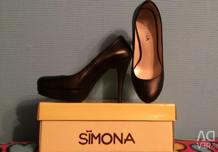 Pantofi NEW SiMONA piele originala