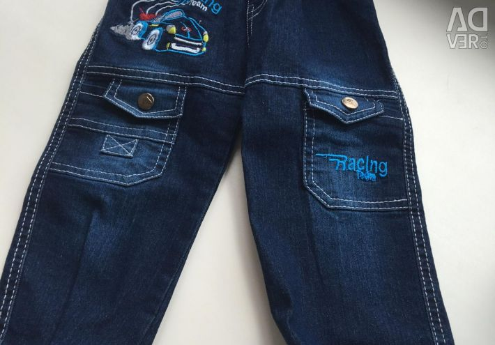 Children's jeans new with a label 92-98 size