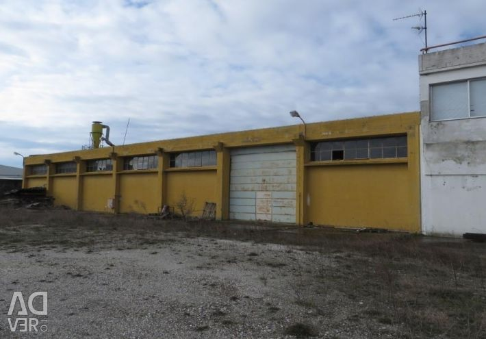 Industrial building of 2.394,55 sq.m. an administr