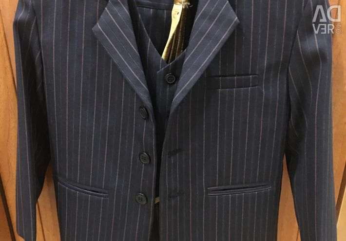Suit (trousers, waistcoat, jacket and tie)