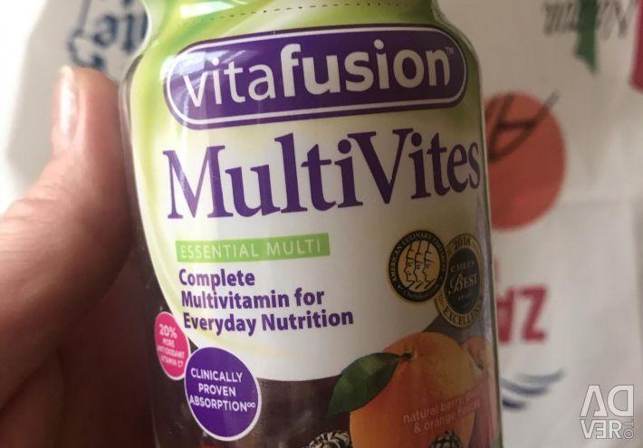 Жувальні мультивітаміни для дорослих кричи