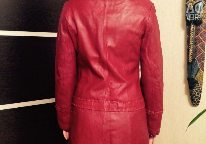 Шкіряна куртка в отличном состоянии