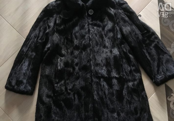 Mink coat 52 μέγεθος