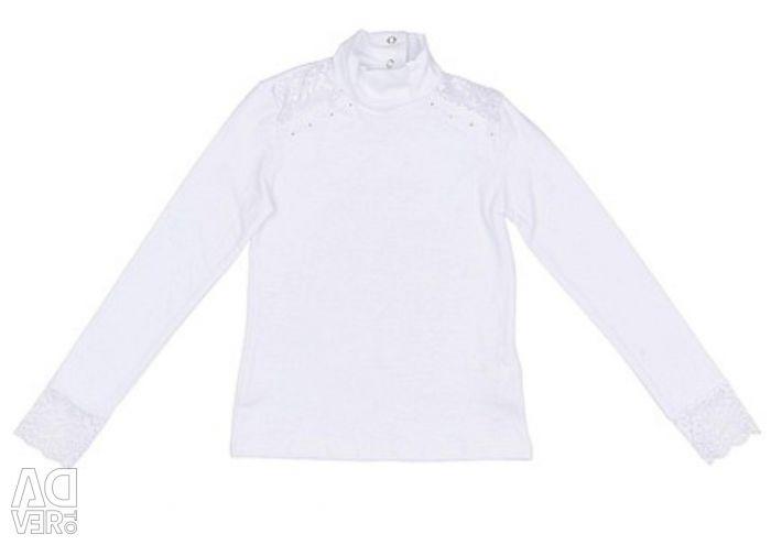 ? Blouse ? white cotton thin knitwear