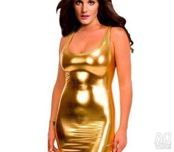 Χρυσό / χρυσό φόρεμα