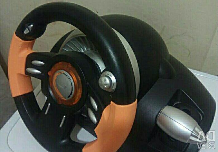 Game steering wheel