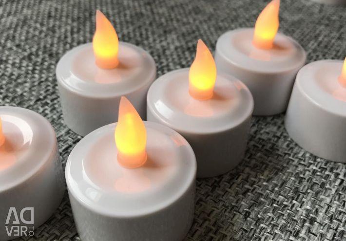 Свечи led с пультом