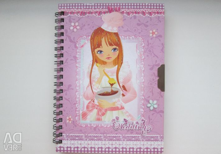 Anime style notebook
