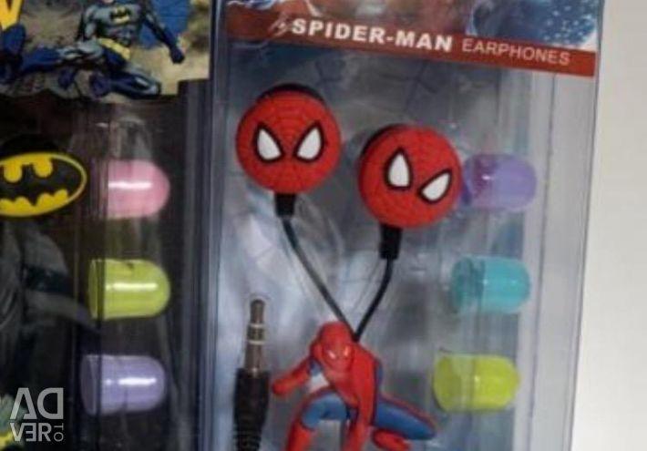 Headphones spider man, mmd