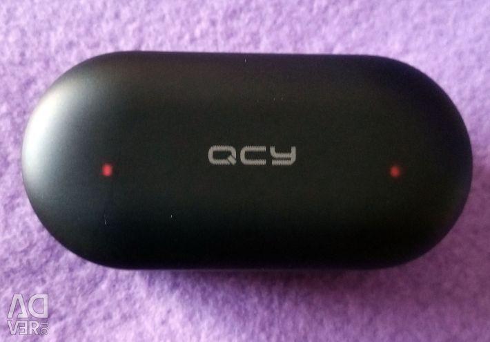 🔥 TWS Earphones QCY QS2 T1S BT5.0 AAC Original