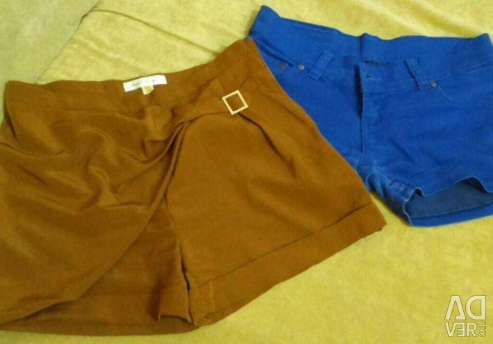 Shorts, skirts