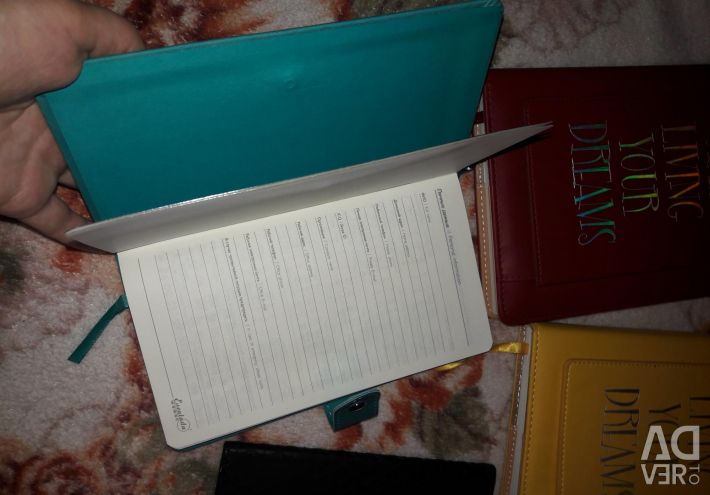 Notebooks, diaries