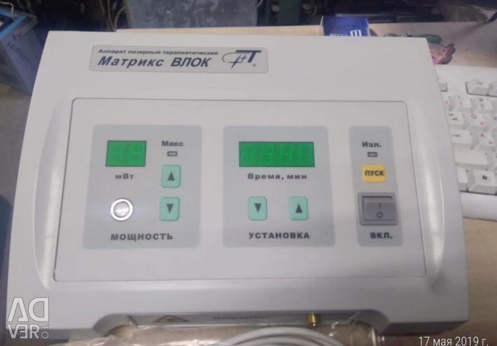 Aparat terapeutic laser matrix-VLOK, nr