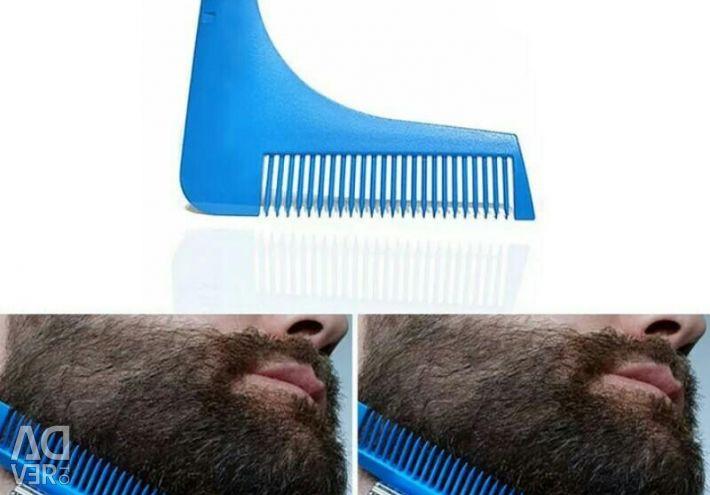 Haircuts for beard trimming.