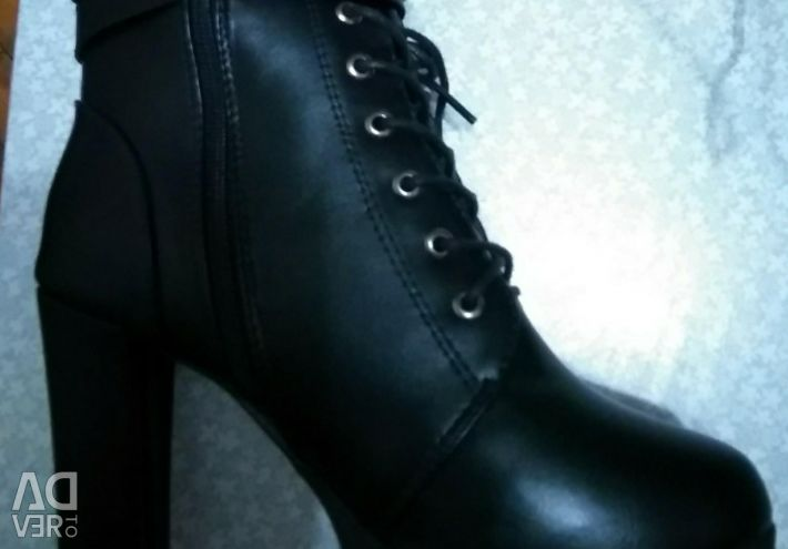 Half boots for women new sizes 38,39