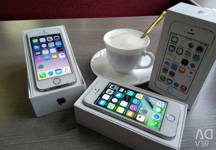 Apple iPhone 5S 32GB ασημί.