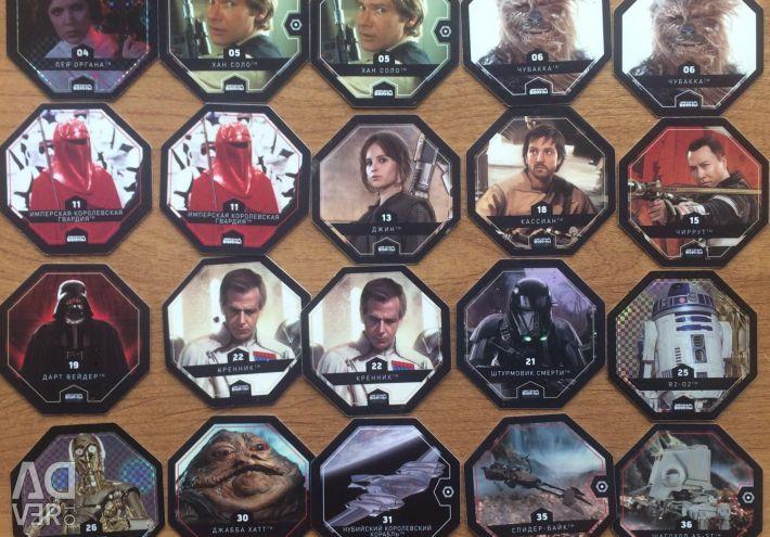 Cards Star Warriors20pcs