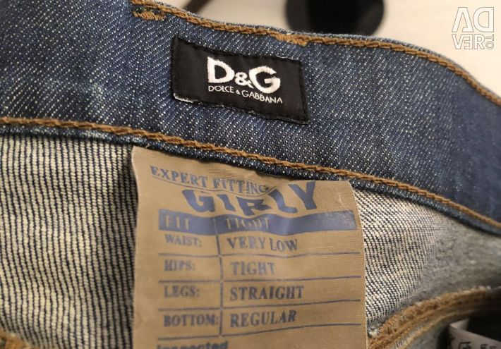 Jeans Dolce Gabbana New Original