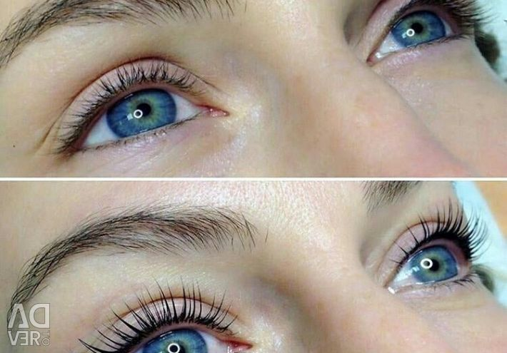 Compositions for eyelashes.