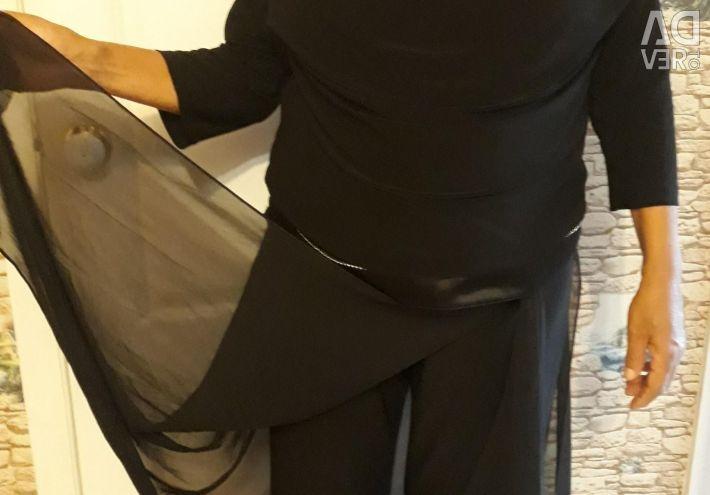 Κοστούμι (μπλούζα + φούστα παντελόνι)