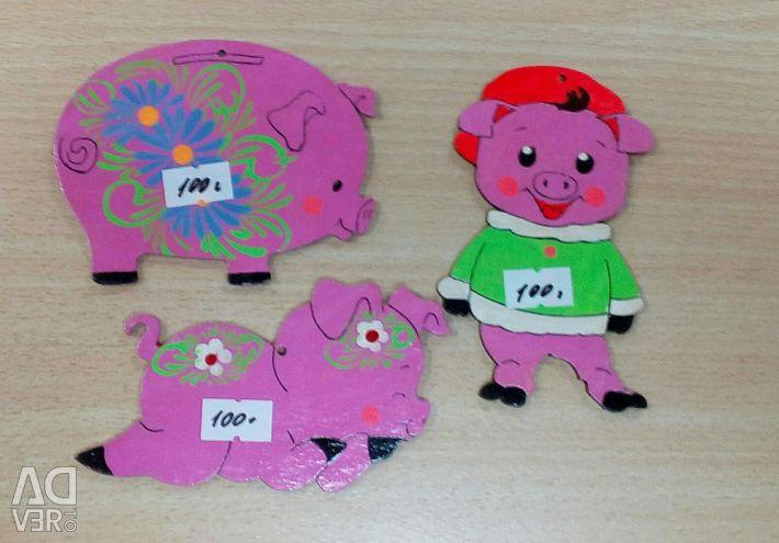 Магніти свинки