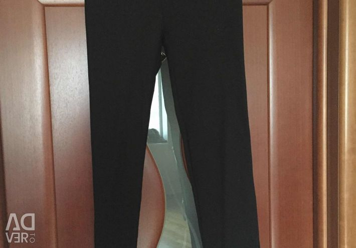 Pants leggings new Italy Kasha size 46 M black