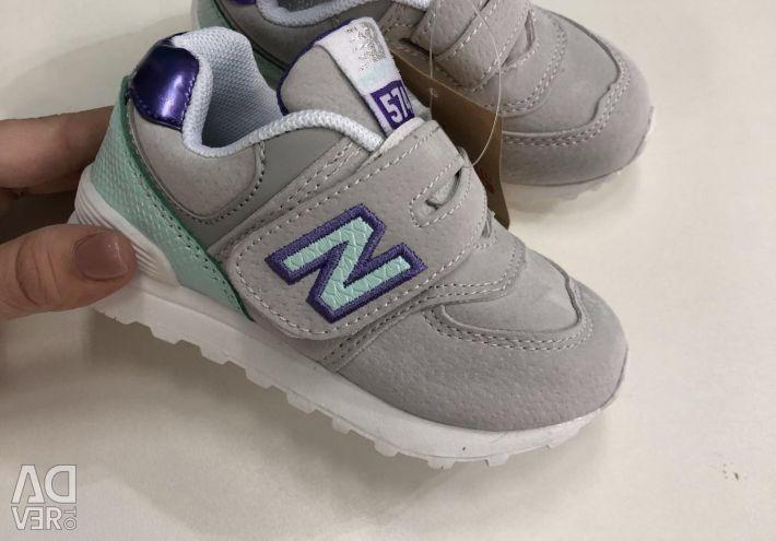 Ανδρικά παπούτσια Νέο ζυγίζω γκρι