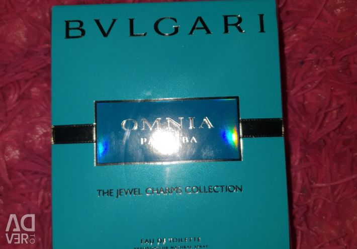 Perfume Original New BVLGARI Omnia Paraiba 25 ML