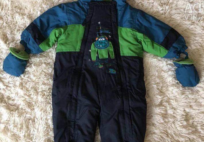 Winter overalls Peluche (Canada) 9m